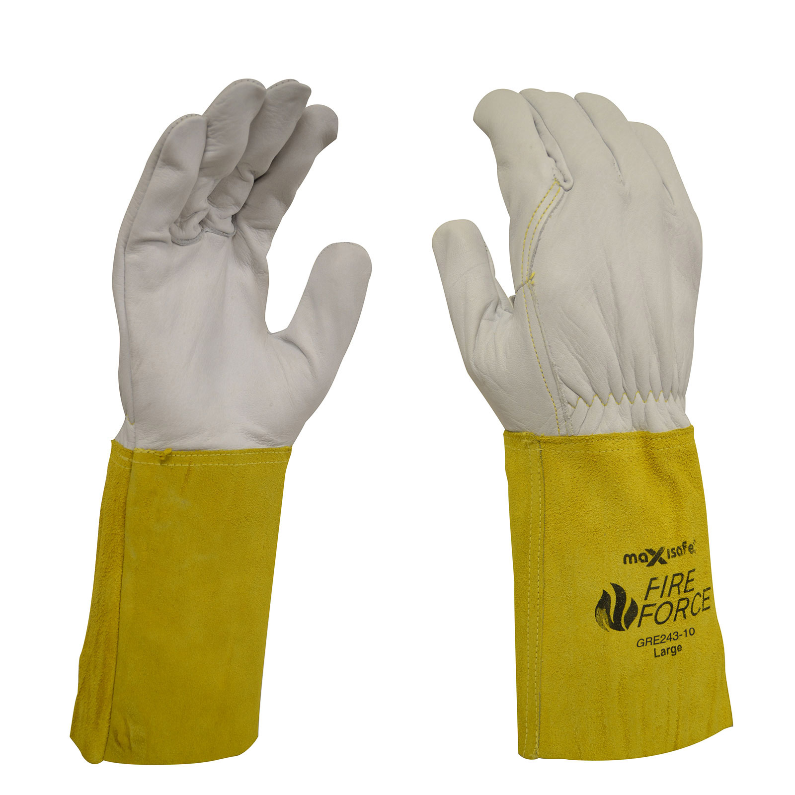 Maxisafe FireForce Extended Cuff Rigger Gloves - Large