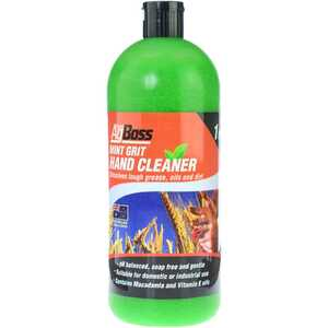 AgBoss 1 Litre Mint Grit Hand Cleaner