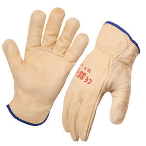 AgBoss 6 Pack Premium Cowhide Riggers Gloves
