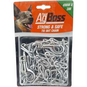 AgBoss 4mm x 3m Tie Out Chain