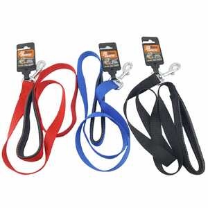 "AgBoss Nylon Padded Dog Lead - 25mm x 120cm (48"")"