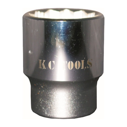 "KC Tools 1"" Dr Double Hex Socket 67mm"
