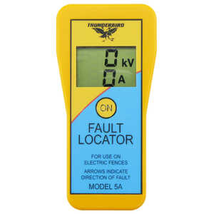 Thunderbird EF-5A Electric Fence Tester Fault Locator Remote