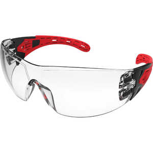 Maxisafe Evolve Clear Safety Glasses w/ Gasket & Headband