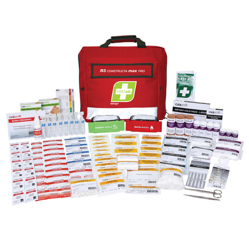 FastAid Soft Pack Constructa Max Pro Kit R3 First Aid Kit