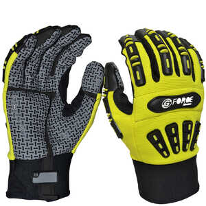 Maxisafe G-Force Xtreme Mechanics Heavy Duty TPR Back Gloves