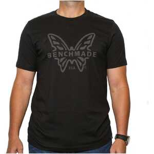 Benchmade T-Shirt - Subdued Black - Size SM