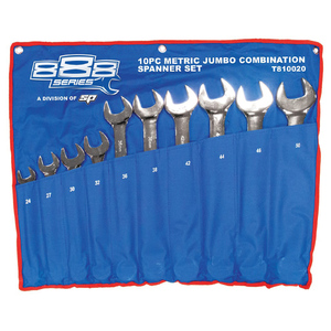 888 Tools 10pc Metric ROE Jumbo Spanner Set
