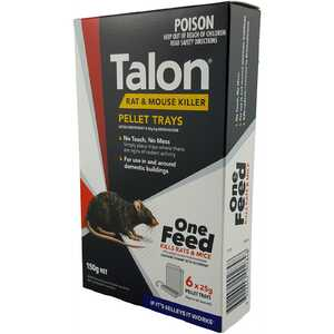 Talon 150g Pellets Mouse & Rat Bait