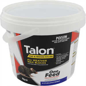 Talon 1kg Wax Blocks Rat & Mouse Bait