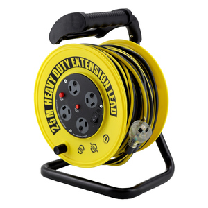 Ultracharge 25m Extension Lead Reel